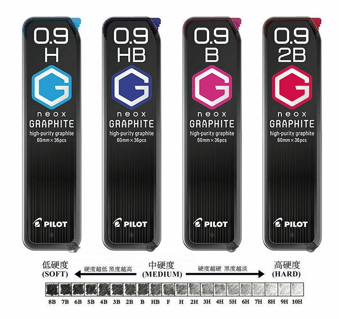PILOT 百樂0.9mm鉛筆芯 HRF-9G 超G自動鉛筆筆芯 / 一小筒入 { 定50 } 鉛筆替芯 1