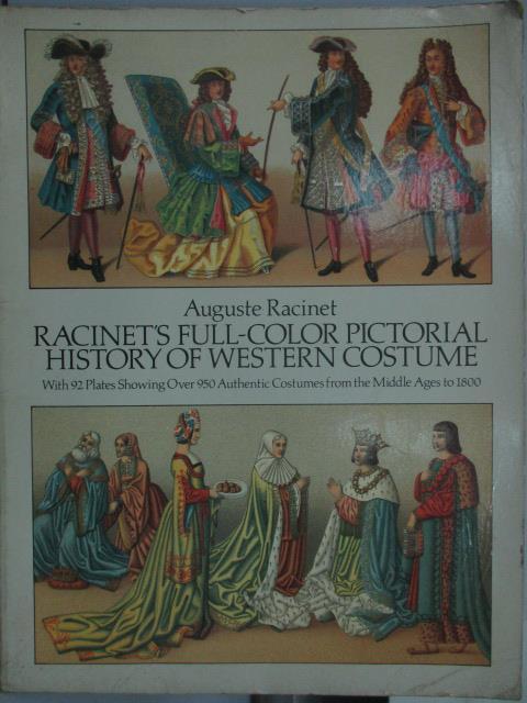 ~書寶 書T1/ _RJD~Racinets Full~Color Pictorial H
