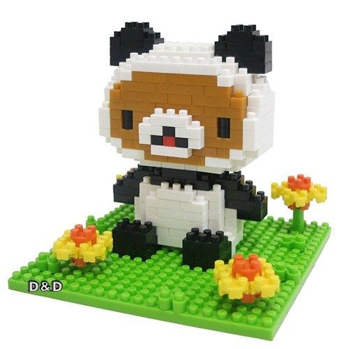 《 Nano Block 迷你積木 》【 拉拉熊系列 】NBH - 111 拉拉熊貓熊版