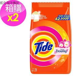 【Tide】洗衣粉-含Downy/2入箱購(5kg*2)[183341]