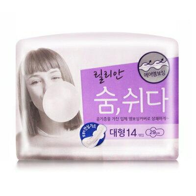 韓國秀智代言-莉蓮3D衛生棉(29cm) K809