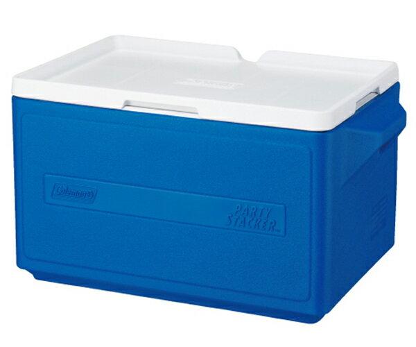 【鄉野情戶外專業】 Coleman |美國| 31L 置物型冰桶 /冰桶 保鮮桶 保冰箱-藍/CM-1330JM000