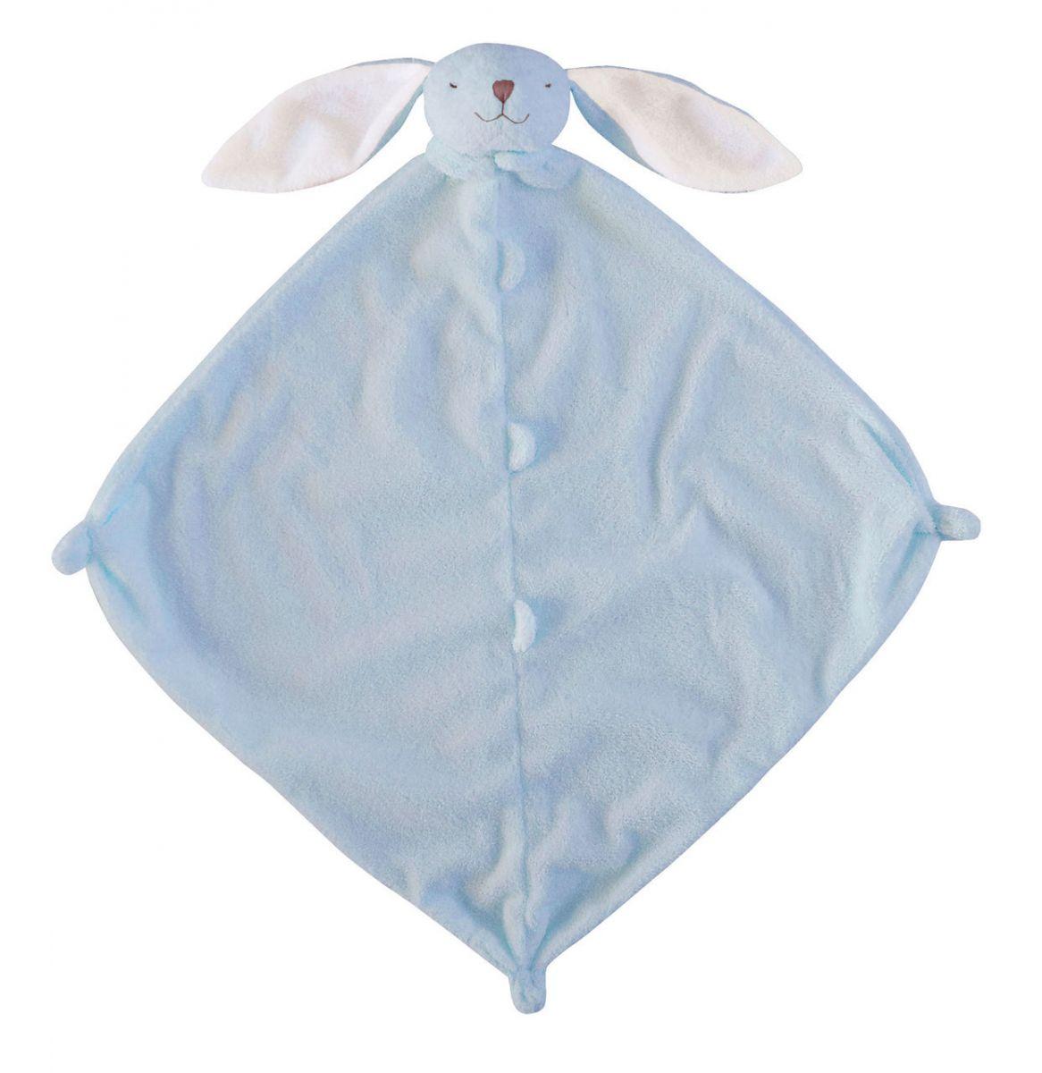 【超取免運】美國 Angel Dear 動物嬰兒安撫巾(新款藍色小兔)*夏日微風* 0