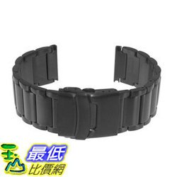 [106美國直購] 錶帶 Luminox Black PVD Bracelet for 8400 Series Black Ops and 22mm Watches
