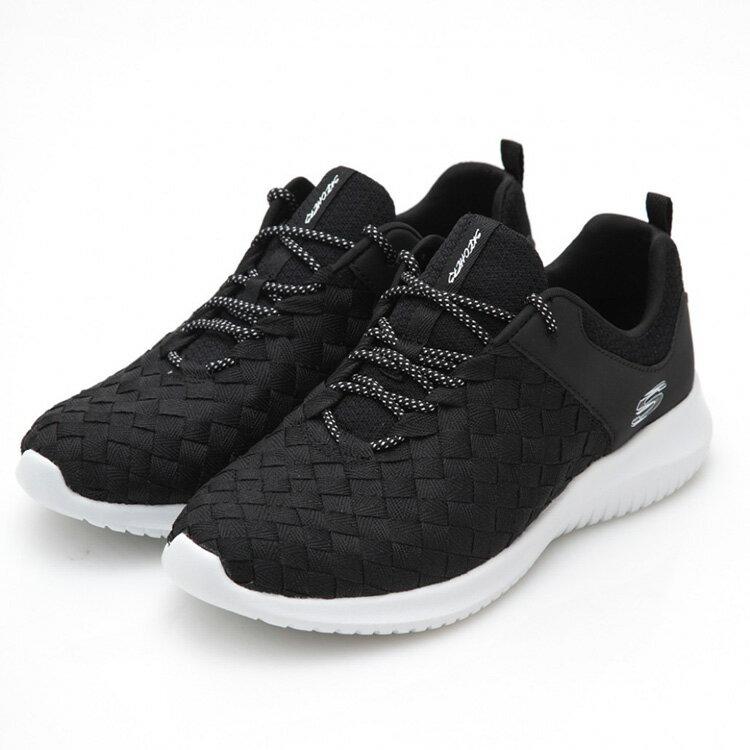 SKECHERS 女款 UltraFlex 運動鞋12845 BKW  /  城市綠洲 (美國品牌、輕量、避震、運動休閒鞋) 0