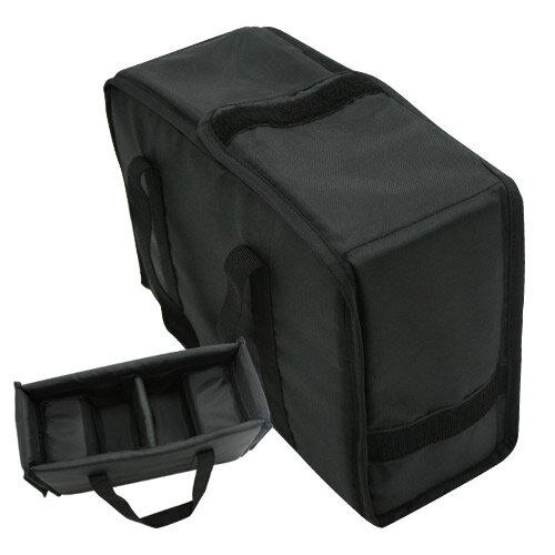佳美能KAMERA旗艦館 一機兩鏡側背包型相機內袋防護套 黑