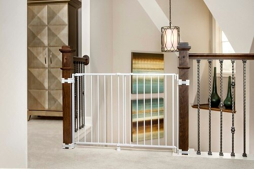 Regalo International Regalo Top Of Stairs Expandable Metal Gate