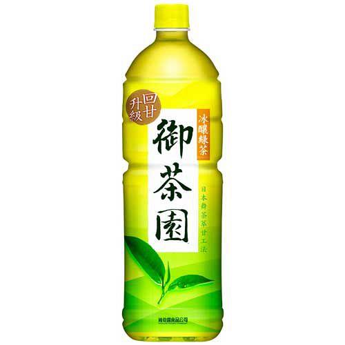 維他露御茶園冰釀綠茶1.25L【愛買】
