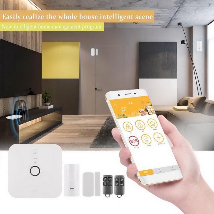 Smart WIFI home wireless burglar alarm 0