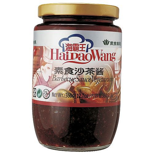 海霸王素食沙茶醬360g【愛買】