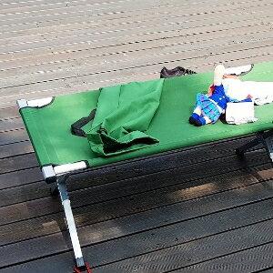 美麗大街【106102424】高承重露營戶外休閒行軍床折疊床[放充氣床墊更好睡]