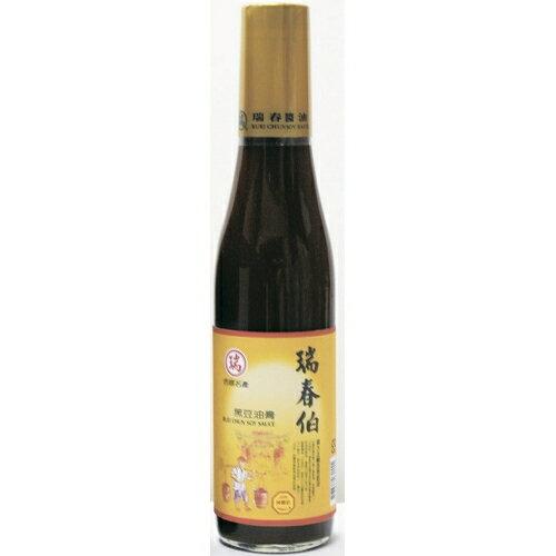 瑞春醬油黑豆油膏420ml【愛買】