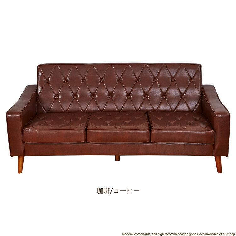 日本熱賣‧Diamond菱角仙三人座皮革沙發/另有單人+雙人座★班尼斯國際家具名床 2