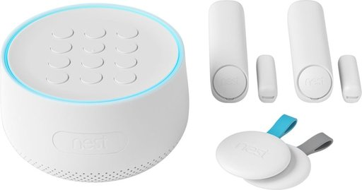 Nest Secure Alarm System White