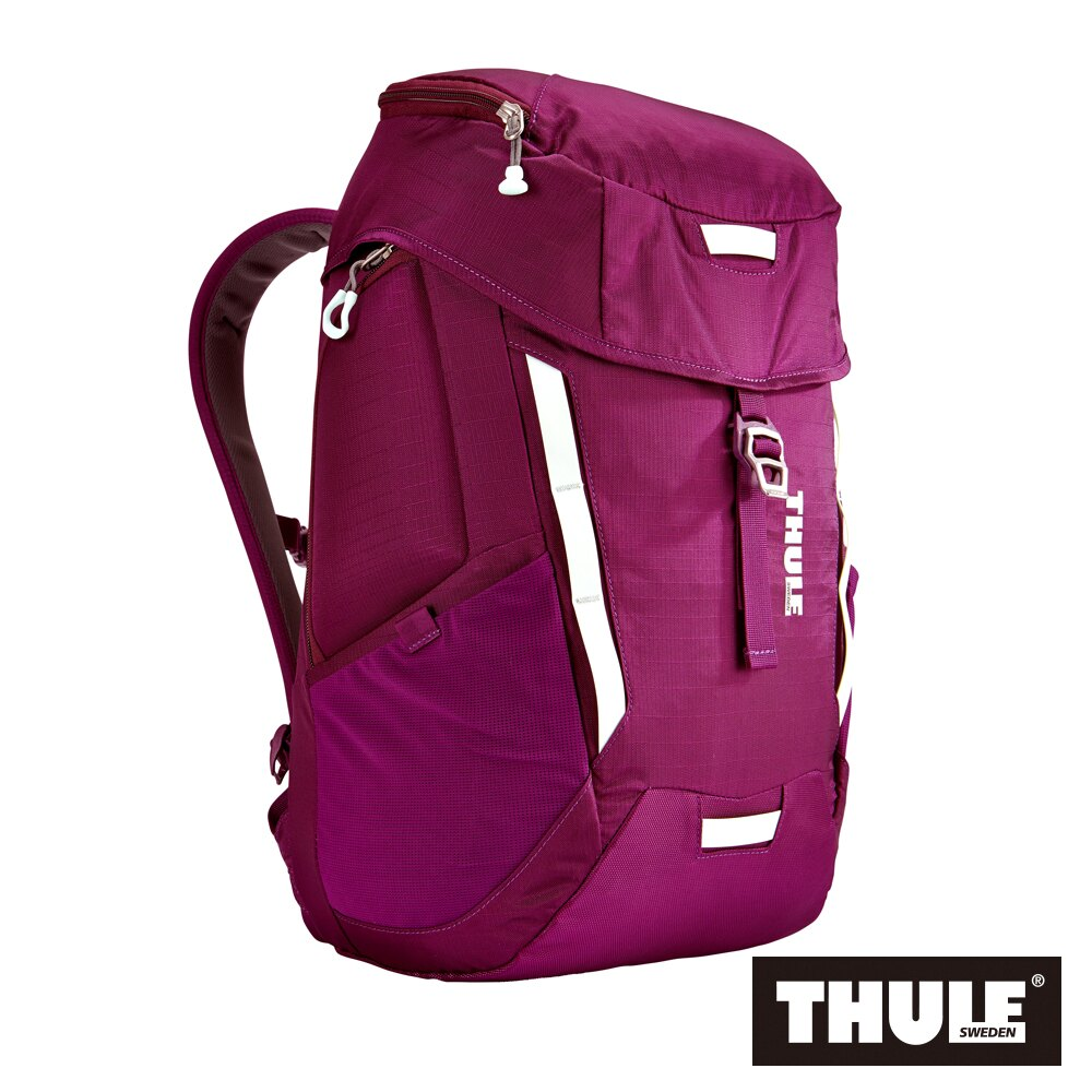 【THULE 都樂】EnRoute Mosey 多功能15吋雙肩後背包 TEMD-115-紫