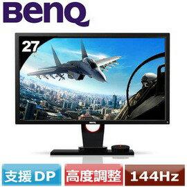 BenQ XL2730Z QHD頂級144Hz電競螢幕 27吋TN/16:9/12M:1/1ms/1A1D2H1DP/喇叭
