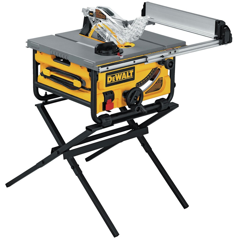 "Dewalt DW745S 10"" Compact Job Site Table Saw + $25.49 Credit"