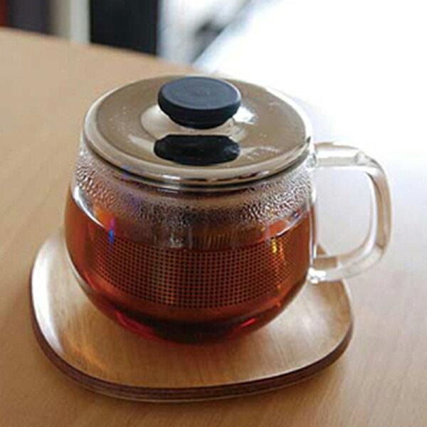 慢活屋:KINTOUNITEA木製耐熱茶壺墊12cm