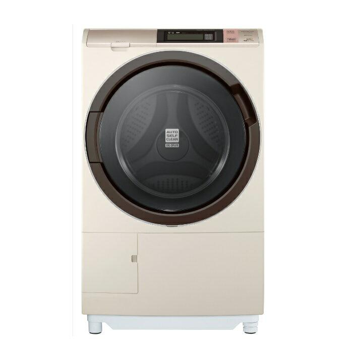 HITACHI 日立 SFSD6200WR 尼加拉飛瀑滾筒式洗脫烘洗衣機(右開)(香檳金) ※熱線07-7428010
