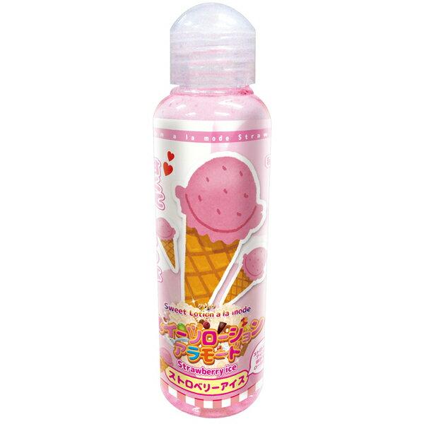 [漫朵拉情趣用品]日本Tama Toys*?????????????? ????????? 潤滑液120ML (草莓冰淇淋) DM-9173301