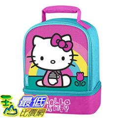 [106美國直購] 手提包 Thermos Dual Compartment Lunch Kit, Hello Kitty