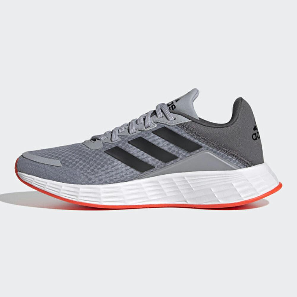【滿額最高折318】Adidas DURAMO SL 童鞋 大童 休閒 透氣 柔軟 灰【運動世界】FY8891