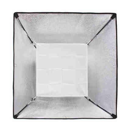 折疊柔光罩 60*60 便攜折疊柔光箱攝影棚攝影器材配件含柔光布小型柔光罩 保榮卡口影室閃光燈攝影柔光箱 『MY5596』