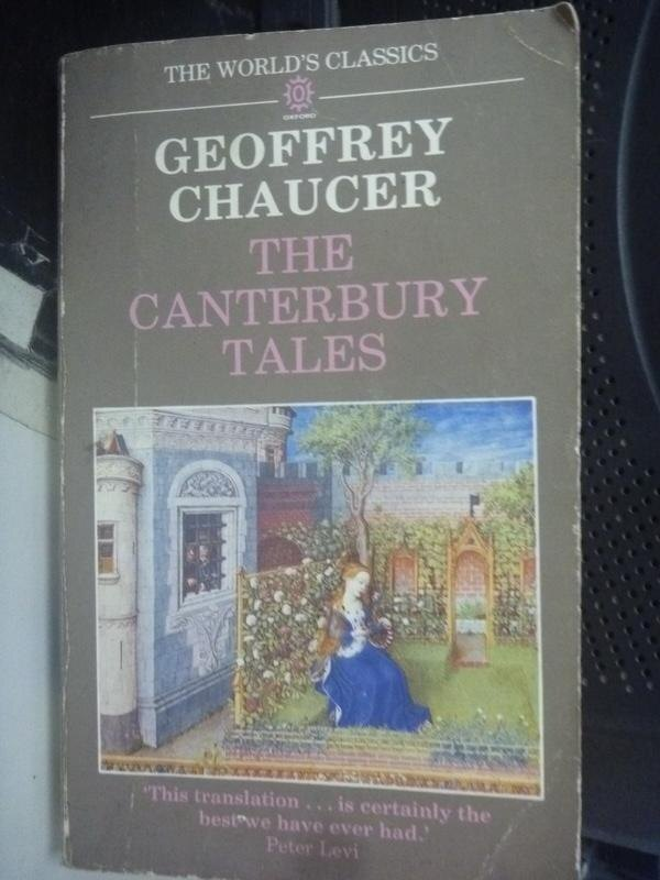 【書寶二手書T2/原文小說_HSO】The Canterbury Tales_Chaucer