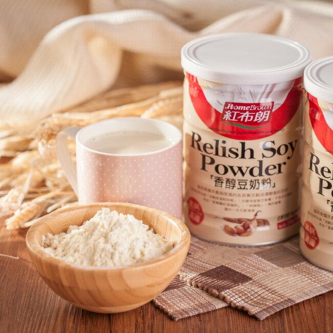 紅布朗 香醇豆奶粉(400g/罐)