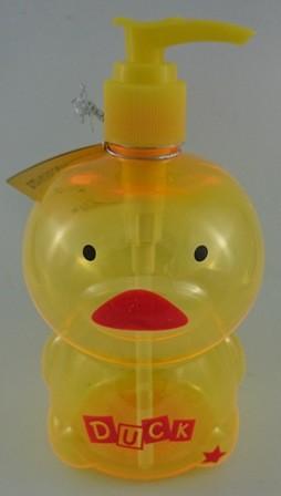 日本ECHO~動物造型按壓空瓶-500ml黃色