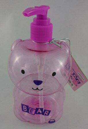 日本ECHO~動物造型按壓空瓶-500ml紅色