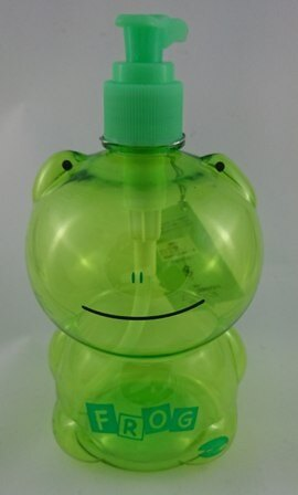 日本ECHO~動物造型按壓空瓶-500ml綠色