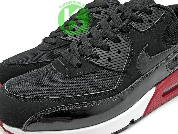2016 最新 NSW 經典復刻鞋款 人氣商品 NIKE AIR MAX 90 ESSENTIAL 黑紅 黑紅白 網布 牛巴戈 亮皮 慢跑鞋 (537384-066) 0117 2