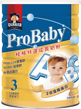 桂格 Probaby 特選成長奶粉(500克)一組二瓶賣場