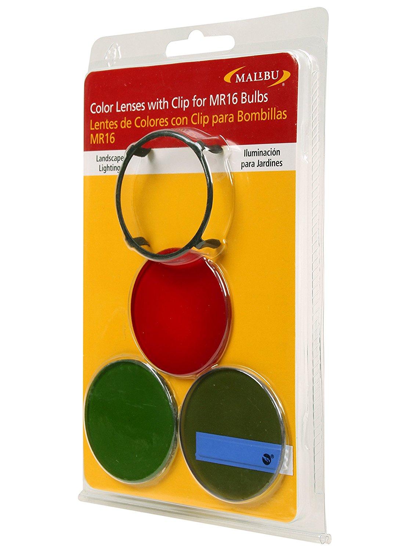 Venus Manufacture Malibu Color Lenses With Clip For Mr16