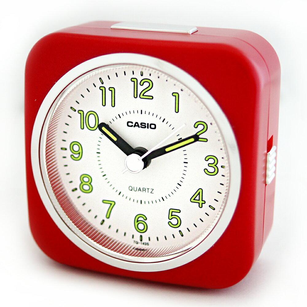 CASIO 卡西歐 TQ-143S 經典復刻版桌上型指針鬧鐘 3