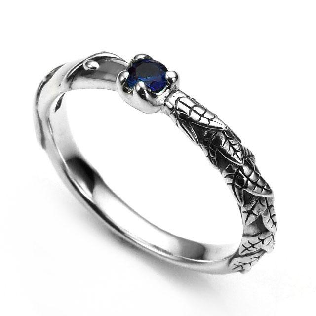 【Bloody Mary】木之果實 倫敦藍托帕石純銀戒指 (BMR1289-Lbt)