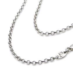 【Chrome Hearts】Chain roll 本格派純銀項鍊 80cm加長版 (CHN-031-32)