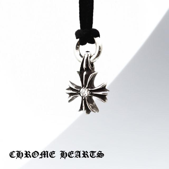 【Chrome Hearts】CH plus十字純銀墬飾 - 鑲鑽款 (CHC-005)