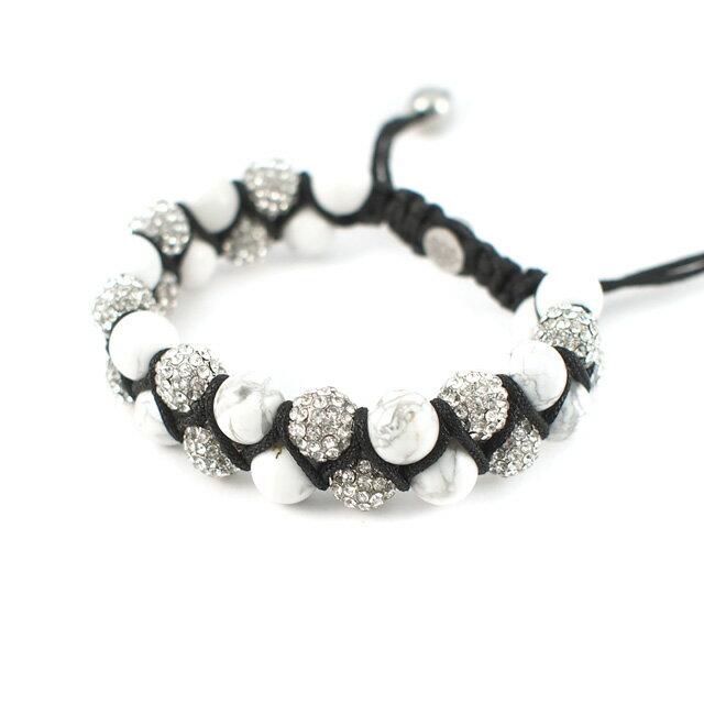 【KAPARA】不銹鋼天然石雙層串珠手鍊(KB-K182)