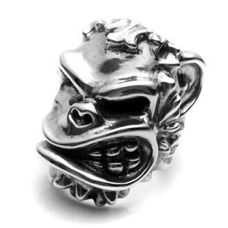 【海外訂購】【STARLINGEAR】骷髏猴子破壞者純銀戒指(STR002MONKEY)
