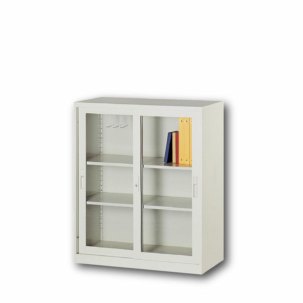 【哇哇蛙】理想櫃/玻璃拉門活動三層式 UG-3A 辦公 學校 收納 文件報表 置物櫃 分類櫃 隔間櫃 鐵櫃 資料櫃