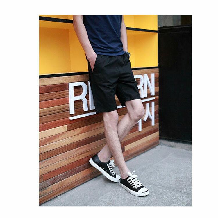 【專區任選2件$580】 最新款日系新品潮流經典純色休閒短褲 8