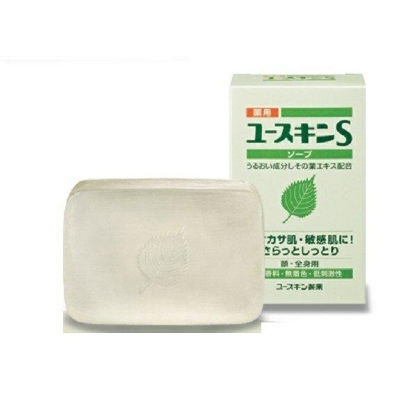 Yuskin 悠斯晶S 紫蘇透明皂 潔顏皂 90G/個★愛康介護★