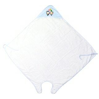 『121婦嬰用品館』PUKU 寶寶沐浴圍裙 - 藍 0