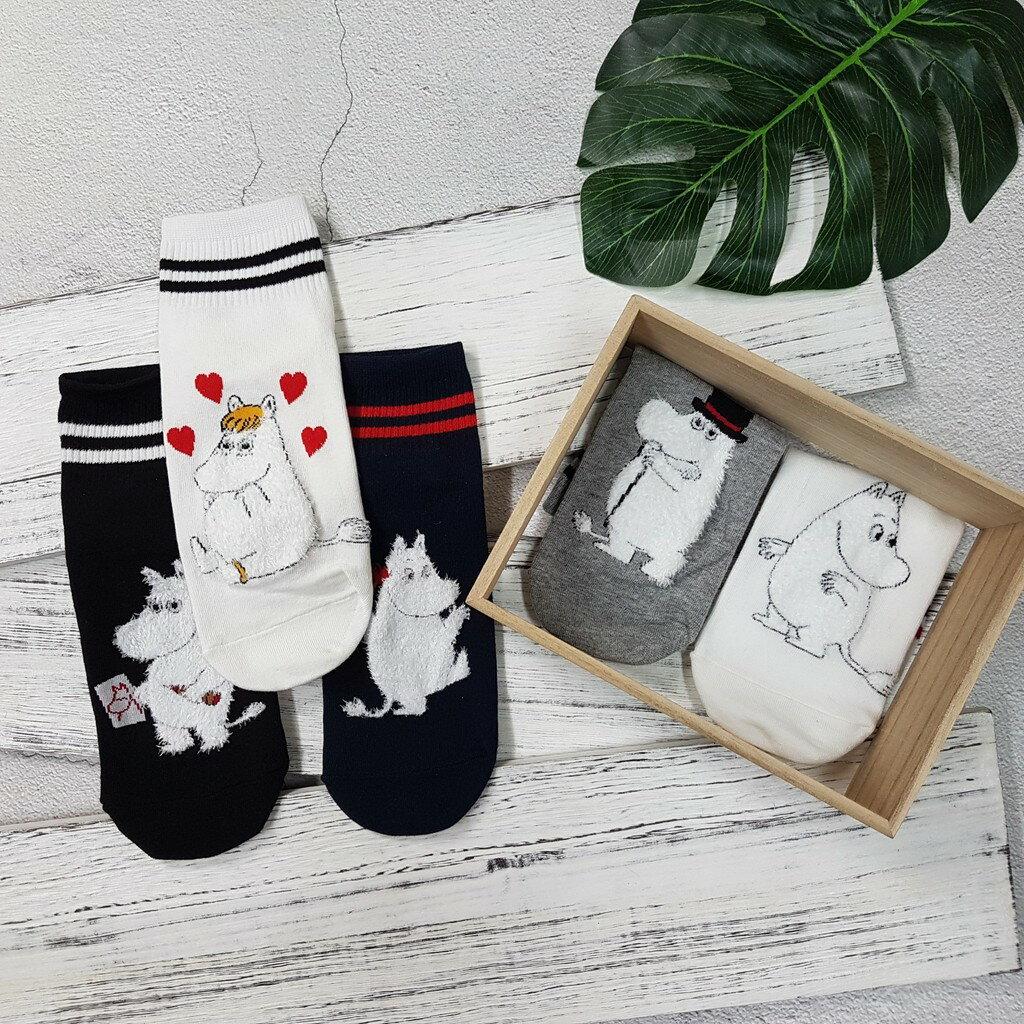 【現貨⭐嚕嚕米熱賣】韓國襪子 高質感 嚕嚕米系列棒球短襪 超夯 正韓 中筒 5