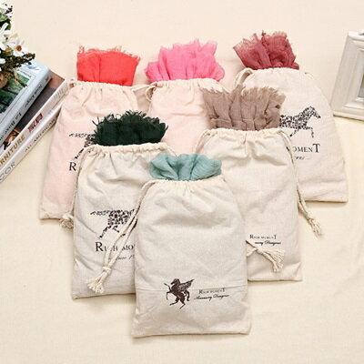 時尚棉麻圍巾-個性民族風純色大尺寸女披肩13色73pp23【獨家進口】【米蘭精品】