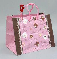 紙袋小2K~20入~甜心熊~便當袋 pbag~030