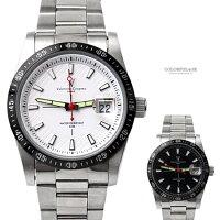 時尚老爸手錶推薦到范倫鐵諾.古柏 夜光指針鋼製手錶 柒彩年代【NEV3】就在柒彩年代推薦時尚老爸手錶