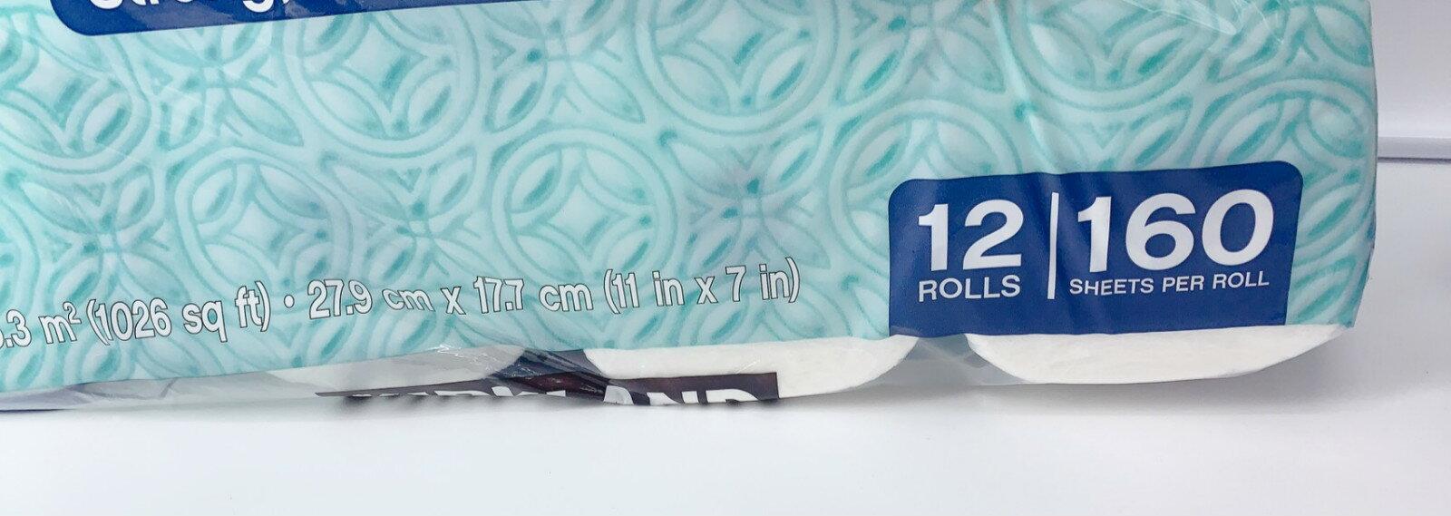 好市多 科克蘭 廚房紙巾 特級紙巾  一袋12捲 餐巾紙 限宅配 1